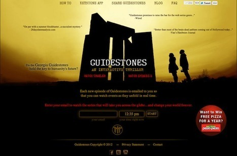 Fans of GUIDESTONES Follow The Clues to Win a Year of Free Pizza | Industry shift: Cross-sector ventures & alliances | Scoop.it