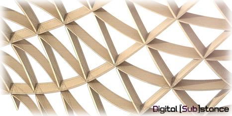Triaxial Waffling Grasshopper3d Definition | Architecture, design & algorithms | Scoop.it