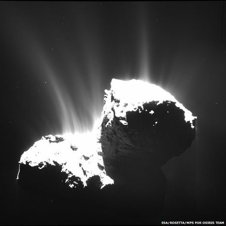 Comet shows off its 'goosebumps' | Physics as we know it. | Scoop.it
