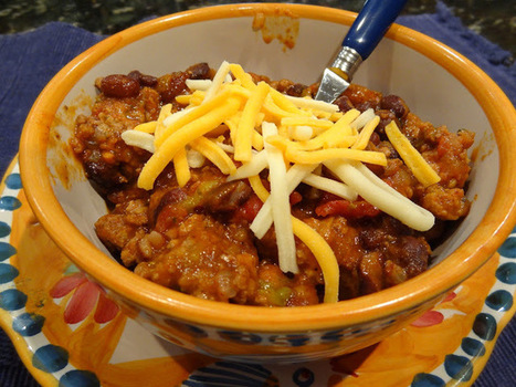 Dallas Duo Bakes: A Food Blog: Thick Oven-Baked Chili   ♨ Family & Food ♨   Scoop.it
