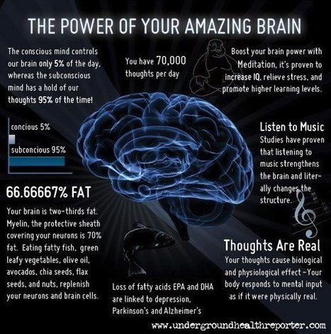 The-Power-Of-Your-Amazing-Brain.jpg (592x597 pixels) | Powers to Achieve | Scoop.it
