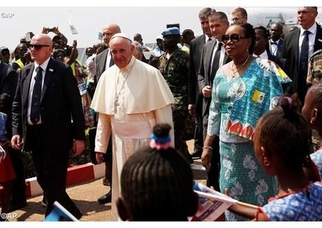 Pútnik pokoja a apoštol nádeje – pápežov tvít Stredoafrickej republike | Správy Výveska | Scoop.it