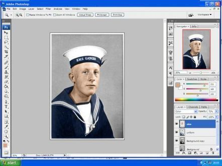 How to Transform Black and White Photographs into Colour using Photoshop | Trucs et astuces du net | Scoop.it