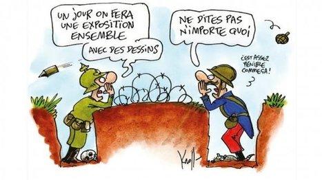 """Grande Guerre : """"On est passé d'un dessin patriotique à un dessin ... - FRANCE 24   Centenaire de la première guerre mondiale   Scoop.it"""