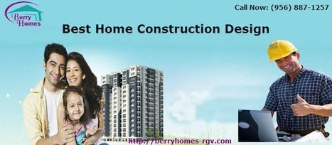 Select the Best Home Construction Design | We want to build your dream home | Scoop.it