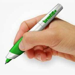 Annoying grammar pen vibrates every time you screw up | It's Show Prep for Radio | Scoop.it