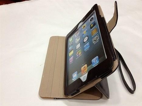 Leather iPad mini case | Apple iPhone and iPad news | Scoop.it