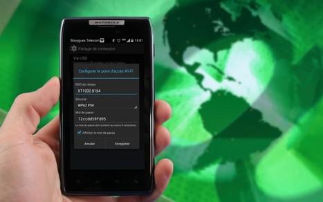 Partager sa connexion Internet sur Android : comment faire ? | netnavig | Scoop.it