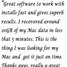 Free Mac Recovery