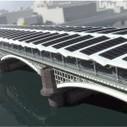 ¿Sabes dónde está el mayor puente solar fotovoltaico del mundo? En Londres | EfikosNews | construccion sostenible | Scoop.it