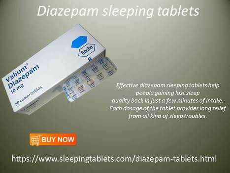 Diazepam tablets | Solution of Sleeping Disorder (Insomnia) | Scoop.it