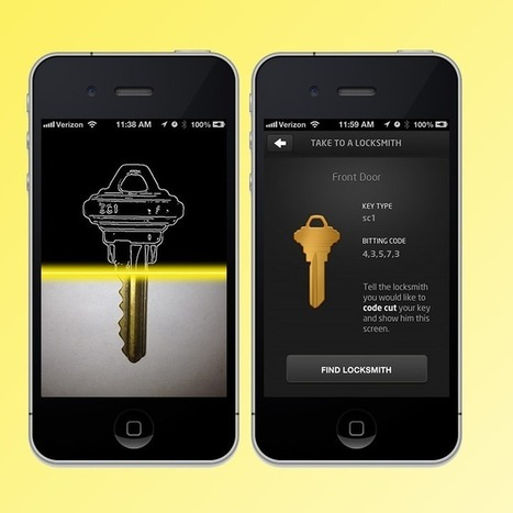 Locked Out? KeyMe App Stores Your Keys in the Cloud | Marketing Planning and Strategy | Scoop.it