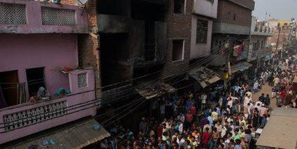 Inde : un incendie dans un atelier textile fait 13 morts | Made In Retail : L'actualité Business des réseaux Retail de la Mode | Scoop.it