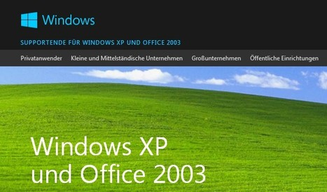 Supportende für Windows XP und Office 2003 am 08. April 2014 | Free Tutorials in EN, FR, DE | Scoop.it