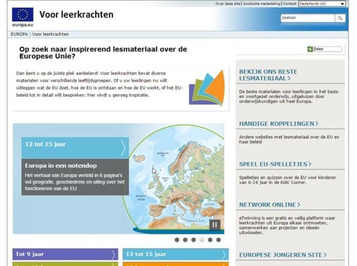 Edu-Curator: Ben jij op zoek naar gratis en inspirerend lesmateriaal over de Europese Unie..? | Educatief Internet - Gespot op 't Web | Scoop.it