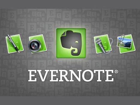 [INFOGRAFICA]: L'ennesima guida su Evernote | Social Media Consultant 2012 | Scoop.it