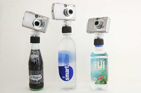 How to turn any bottle into an iPhone or camera tripod | AGBeat | How to Use an iPhone Well | Scoop.it