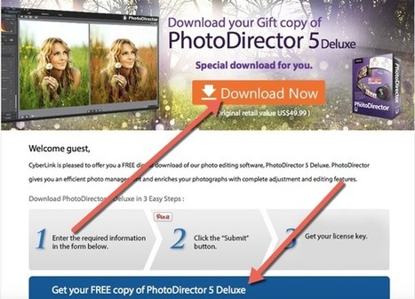 [Giveaway] CyberLink PhotoDirector 5 Deluxe | Free license for you | Hot discount coupon code | Scoop.it