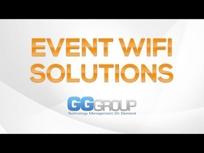 WiFi At Events: 7 Tips For Event Planners   GG Group IT Solutions   Scoop.it