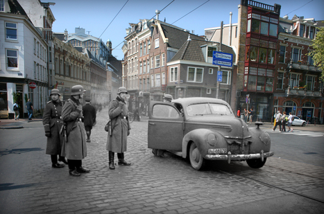Then-And-Now Photos Of Anne Frank's Amsterdam Will Stop You In Your Tracks | School Libraries make a difference | Scoop.it