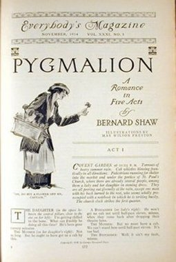 Literary Review and Summary of Pygmalion by George Bernard Shaw | English Lit- LitB2 Pygmalion | Scoop.it