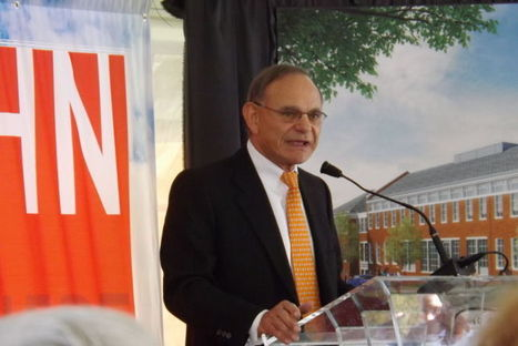Edward St. John Learning and Teaching Center's June construction celebrated - Diamondback Online | Libraries | Scoop.it
