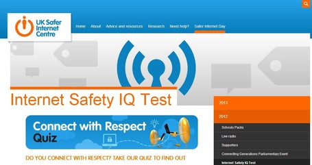 Internet Safety IQ Test | Better teaching, more learning | Scoop.it