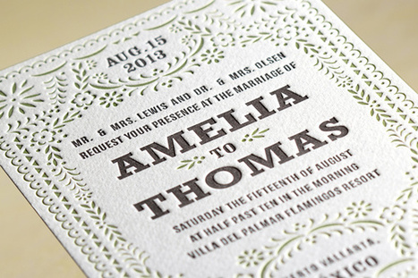 LetterPress – A Traditional Wedding Cards Printing Technique   The Wedding Cards Online   Scoop.it