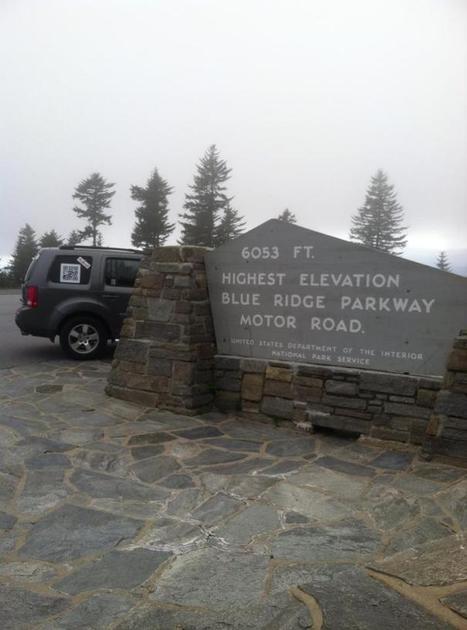 Blue Ridge Parkway's highest point 6,053 feet - Asheville Neighborhood | Travel Asheville North Carolina | Scoop.it