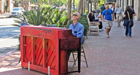 Pianos on State Street Provide Musicians with Impromptu Venue - Noozhawk | EMR Stream Team | Scoop.it