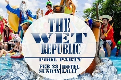 Oysterz Entertainment Presents The Wet Republic Pool Party in Mumbai, DJ Party in Mumbai, Pool Party - Oysterz.in | Nightlife Events in Pune,DJ Party in Mumbai, Nightclubs in Pune | Scoop.it
