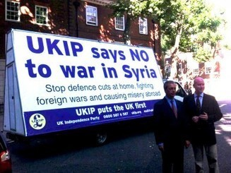 Ukip is now the anti-war party. Watch this space – Telegraph Blogs | right wing news | Scoop.it
