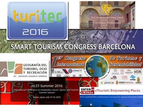 Congresos científicos de Turismo 2016 | Congres... | Turismo creativo y experiencial | Scoop.it