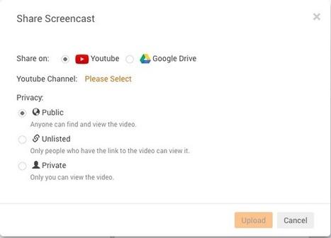Screencastify para tus video tutoriales | Thp | Recursos i eines TIC per a l'educació | Scoop.it