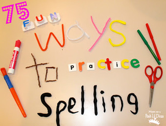 Mom to 2 Posh Lil Divas: 75 Fun Ways to Practice and Learn Spelling Words | Teaching | Scoop.it
