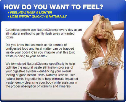 Natural Cleanse Review- Flush Away Weight Gain Causing Factors | Feel cleansed and healthy naturally! | Scoop.it
