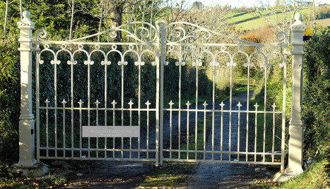 Entrance Gates - Irish country house | Wilsons Conservation Building Products | Scoop.it