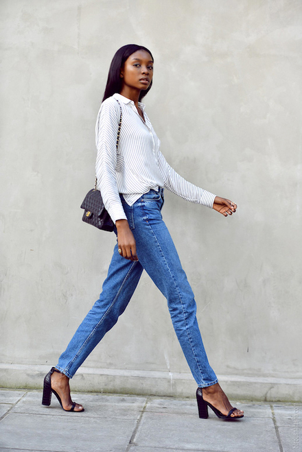The Day Date Outfit Formula To Try Now | Jeans Fashion | Scoop.it