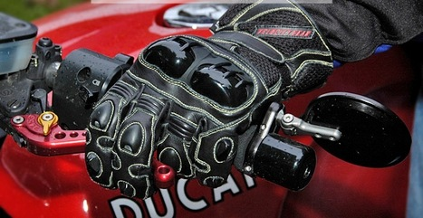 Motor cycle gloves for safety riding | Tested Motorcycle Gloves | Scoop.it