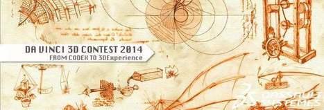 Dassault Systèmes et le Château du Clos Lucé lancent un concours de reconstitution 3D des inventions de L. de Vinci | Musées et outils numériques | Scoop.it