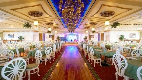 The 7 Most Beautiful Cruise Ship Main Dining Rooms | Mediterranean Cruise Advice | Scoop.it