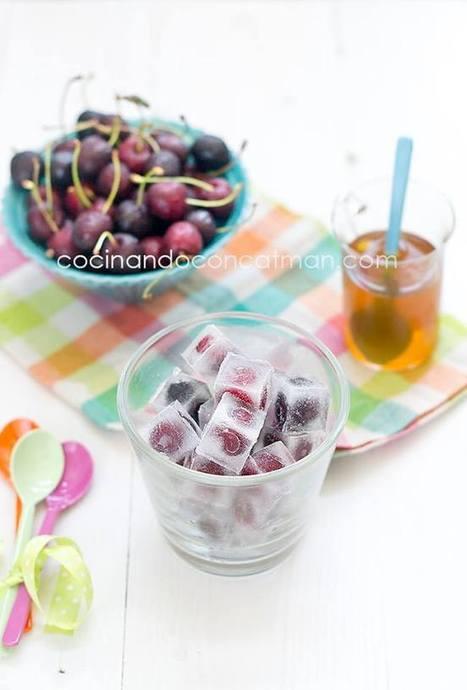 Cubitos dulces con cerezas | recetitas | Scoop.it