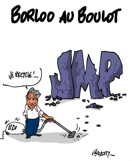 Borloo au boulot | Baie d'humour | Scoop.it