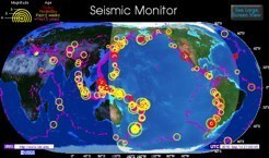 IRIS Seismic Monitor World Map | Science is Cool! | Scoop.it