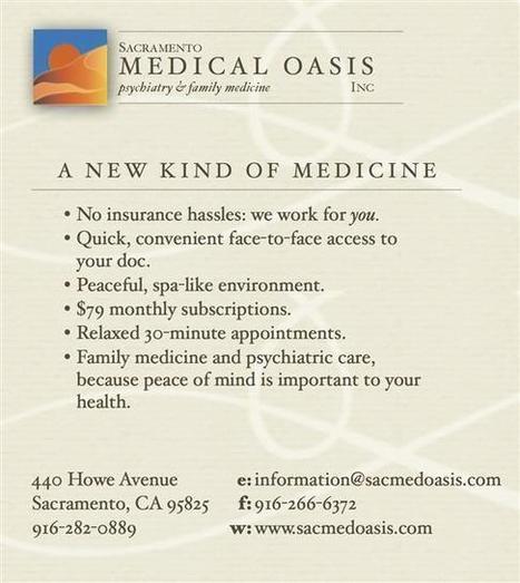 Sacramento Medical Oasis, Inc | Empowerment Magazine | Scoop.it