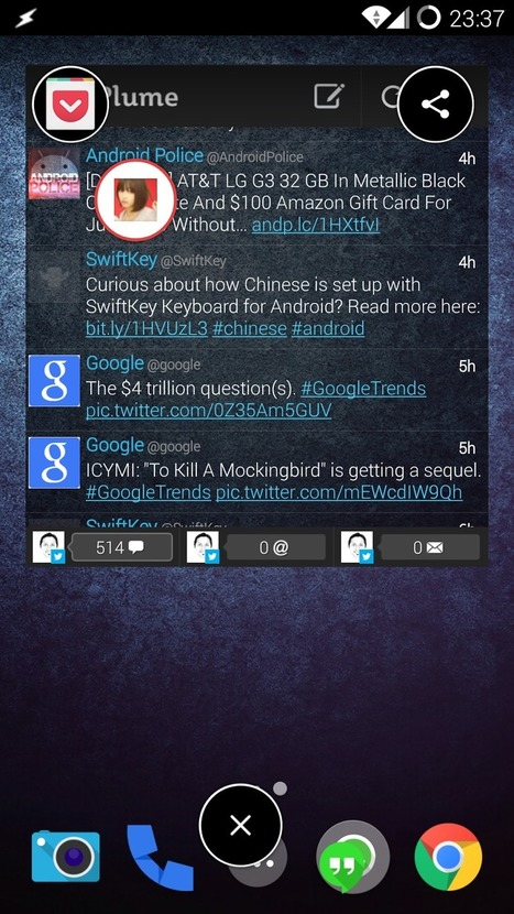 Link Bubble makes your web browsing distraction-free | Android And Freak | Android And Freak | Scoop.it