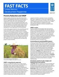 Fast Facts: Poverty Reduction | UNDP | Communication for Sustainable Social Change | Scoop.it