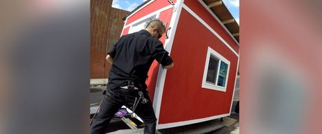 Man Who Builds Houses for Homeless Shares Video After Homeless Woman Dies | Housing | Scoop.it