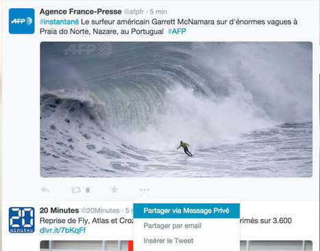 Twitter: le partage de tweet public en message privé désormais possible | Alex-2.0 | Scoop.it