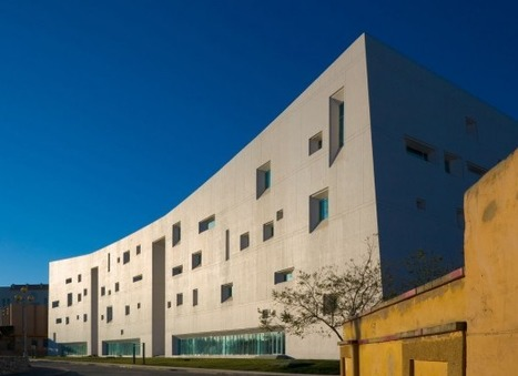 [Jinchang, Gansu, China]  Cultural Centre / Team Minus | The Architecture of the City | Scoop.it